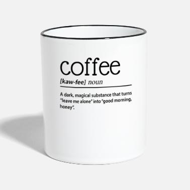 Dark Magic Coffee A Dark Magical Substance - Two-Tone Mug