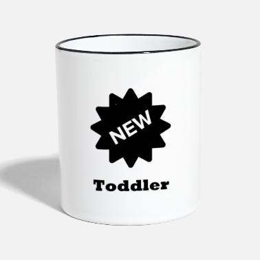 Toddler toddler - Two-Tone Mug