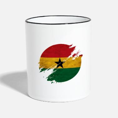 Kumasi Ghana district - Two-Tone Mug