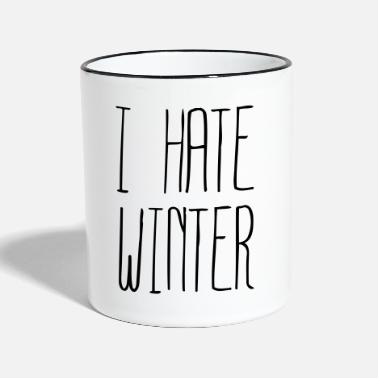Jaime I hate Winter (1c) - Mug contrasté