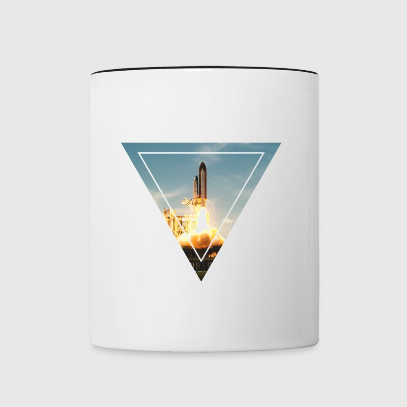 Space Shuttle - Tasse zweifarbig