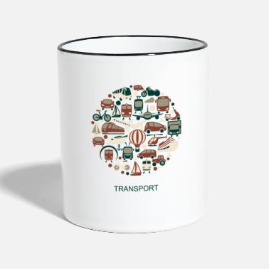Transport transport - Two-Tone Mug