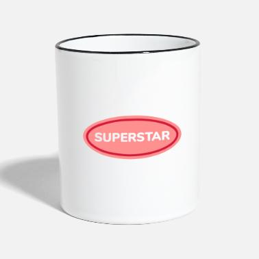 Superstar superstar - Mug bicolore