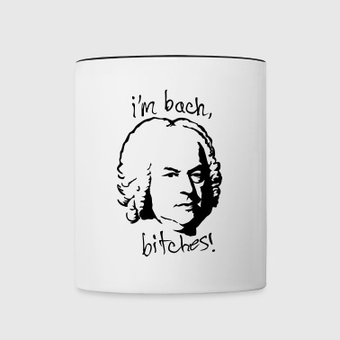 I'm bach bitches grap - Mok tweekleurig