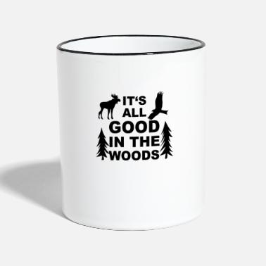 Wilderness wilderness - Two-Tone Mug