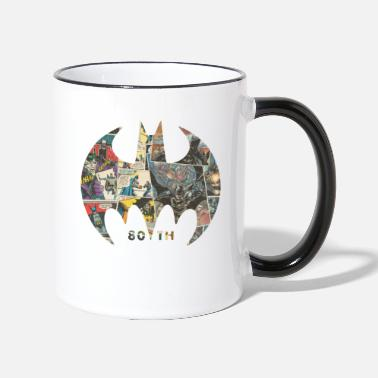 Batman 80 Years Comic Mug - Mok tweekleurig
