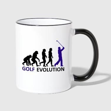 ++ ++ Golf Evolution - Kaksivärinen muki