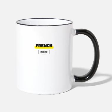 French Inside - Two-Tone Mug