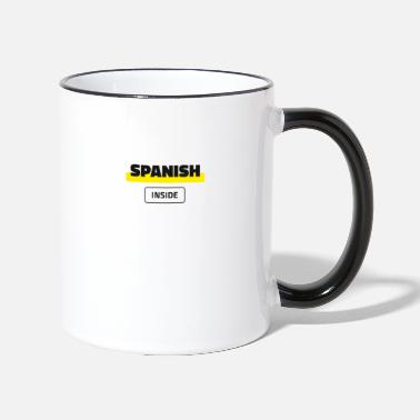 Spanish Inside - Two-Tone Mug