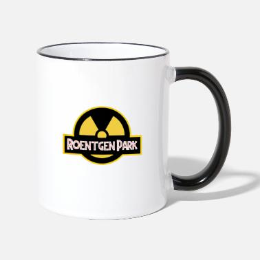Reactor Roentgen Park, New Year - Two-Tone Mug