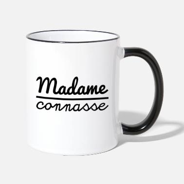 Madame Connasse Madame connasse - Mug bicolore