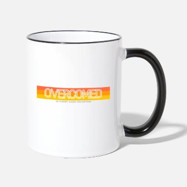 Truth Overcomed Overcome [retro] - Two-Tone Mug