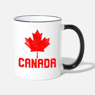 Canada Maple Leaf Flag Canada - Two-Tone Mug