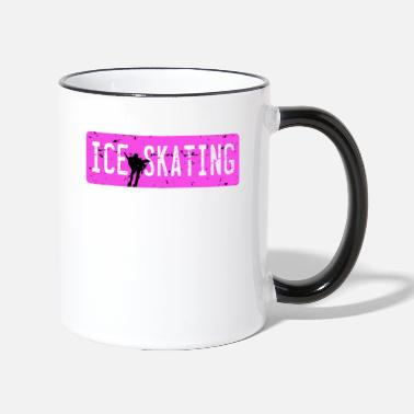 Figure Skating Ice Skating Figure Skating - Contrasting Mug