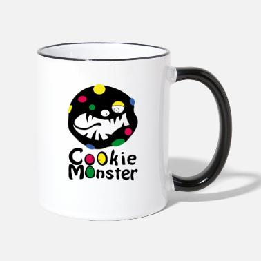 Karmea Monsteri Cookie Monster (b) - Kontrasti-muki