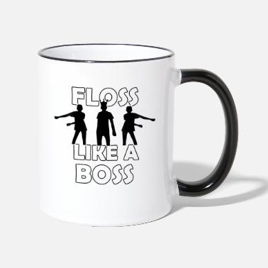 Like A Boss FLOSS LIKE A BOSS - Tvåfärgad mugg