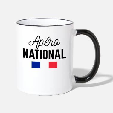 National Apéro national - Mug bicolore