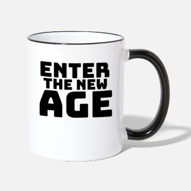 New Age Enter the new Age - Tasse zweifarbig