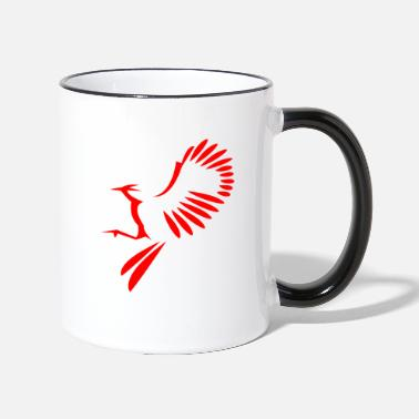 Bird Illustration Bird illustration - Two-Tone Mug