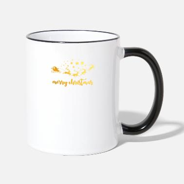 Merry Merry Christmas Santa - Two-Tone Mug