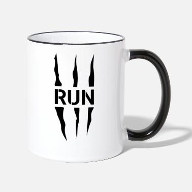 Scratch Run Scratch - Mug bicolore