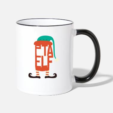 Elves PTA Merry Christmas for PTA - Two-Tone Mug