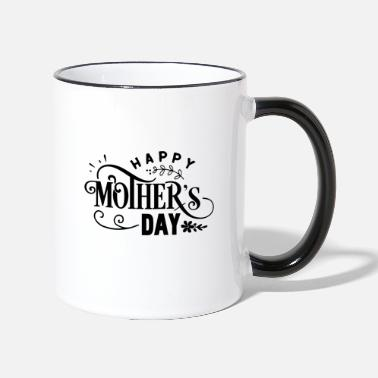Mother's Day Happy Mother's Day - Two-Tone Mug