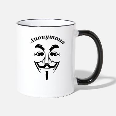 Anonymous Anonymous - Tasse zweifarbig
