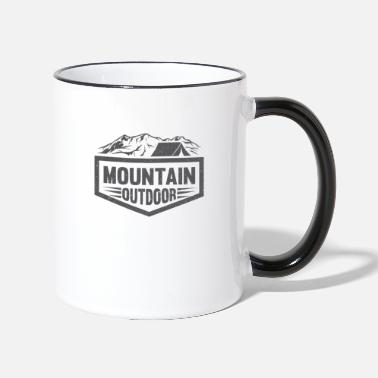 Outdoor Mountain Outdoor - Mug contrasté