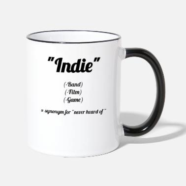 Indie Indie = Non lo so! Mainstreamer Design - Tazza bicolor