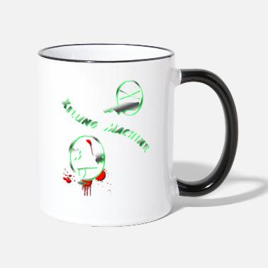 Kill To kill killing machine - Two-Tone Mug