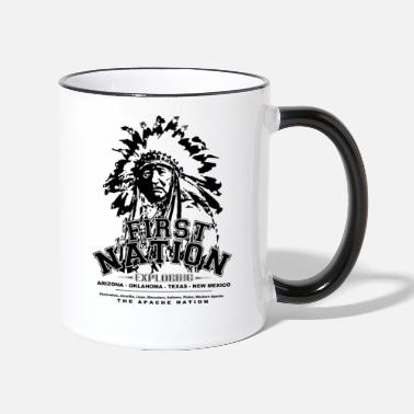 National First Nation The Apache Nation - Two-Tone Mug
