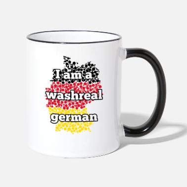 Washreal german - Two-Tone Mug