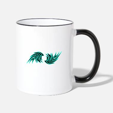 Tattoo Tribal tattoo abstract - Two-Tone Mug
