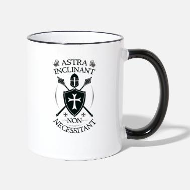 Orders Of Chivalry Crusader Armor + Astra Inclinant Non Necessitant - Two-Tone Mug