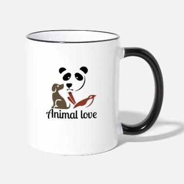 Animal Love Animal love - Two-Tone Mug