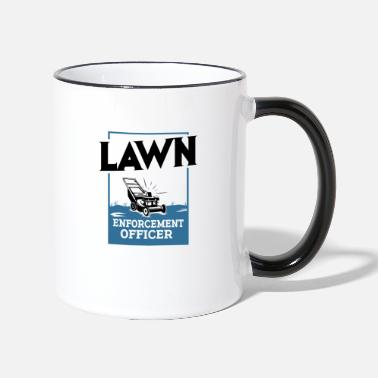 Mower Lawn Mower - Two-Tone Mug