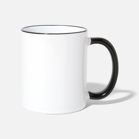 Nature Conservation Mugs & Drinkware - animal lovers - Two-Tone Mug white/black