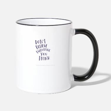Mental Health Mental Health - Two-Tone Mug