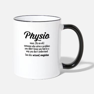 Physiotherapy Physio Definition - Two-Tone Mug