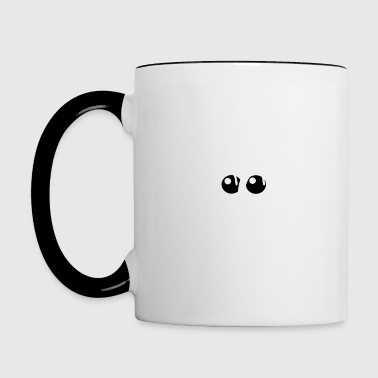 Dialect Hello Guggug eyes - Contrasting Mug