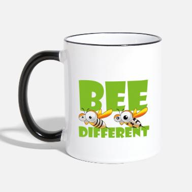 Bee Different 4 - Two-Tone Mug