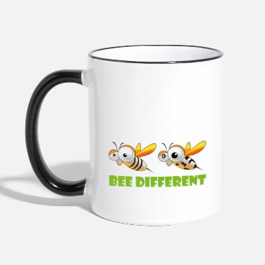 Bee Different 2 - Two-Tone Mug
