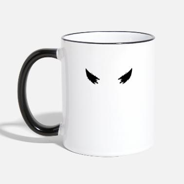 Horns Devil horns horns - Two-Tone Mug