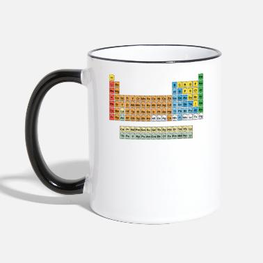 Periodic Table NEW Periodic Table of Elements - Contrasting Mug