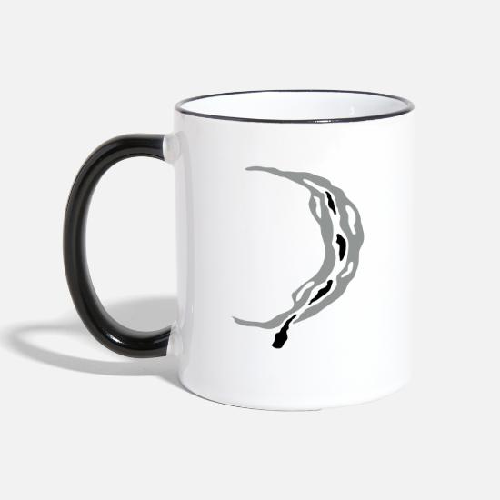 Eternity Mugs & Drinkware - moon - Two-Tone Mug white/black