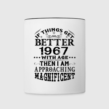 IF THINGS GET BETTER WITH AGE-1967 - Contrasting Mug