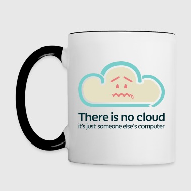 There is no Cloud - Contrasting Mug