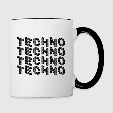 TECHNO SHIRT - Mok tweekleurig
