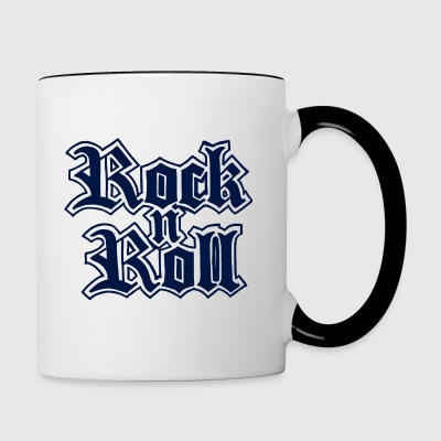 Rock n Roll - Tasse bicolore